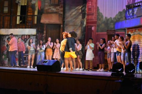 Into the Heights was the last performance that graced the Central stage.  The pandemic has left many students missing the theater.