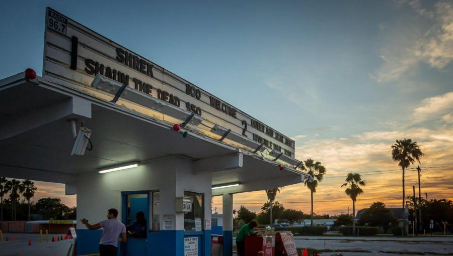 Drive-in movies were once big in the 1960's as a place to go on a first date.  Because of the pandemic, they are experiencing an uptick in profits.
