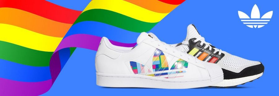 Companies, like Adidas, often release products to show support for particular social movements.  Adidas launched the