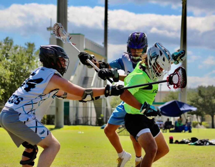 The+boys+lacrosse+team+faced+a+number+of+obstacles+prior+to+starting+the+season+including+recruitment+issues+and+lack+of+practice+time.++